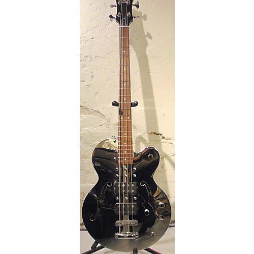 Normandy ATB-CH Chrome Singlecut 4 String Bass 2 Humbuckers Electric Bass Guitar