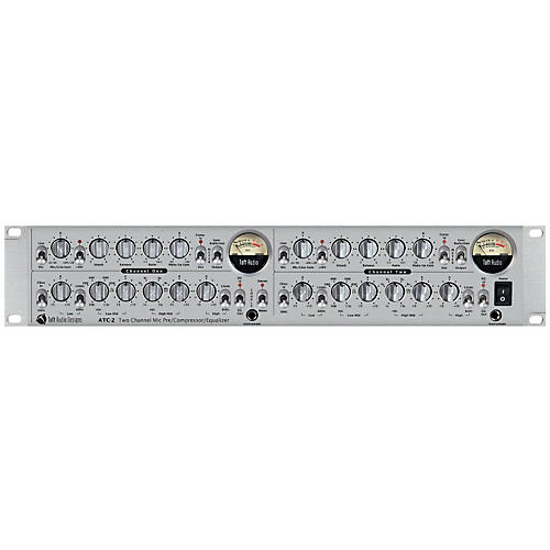 Toft Audio Designs ATC-2 Dual Channel Microphone Preamp, EQ, FET Compressor