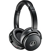 Audio-Technica ATH-ANC50iS Noise Cancelling Over Ear Headphones With Controls