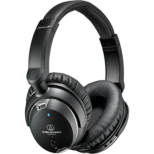 Audio-Technica ATH-ANC9 Noise Cancelling Over Ear Headphones With Controls-thumbnail