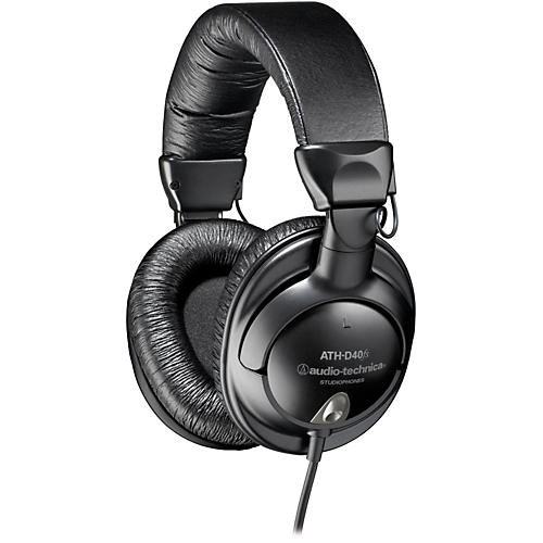 Audio-Technica ATH-D40fs Enhanced-Bass Precision Studiophones