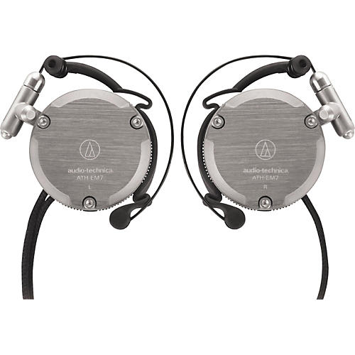 Audio-Technica ATH-EM7 GM Import Series Adjustable Aluminum Clip-On Headphones