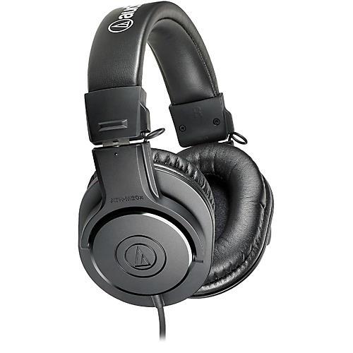 Audio-Technica ATH-M20x Closed-Back Professional Studio Monitor Headphones-thumbnail