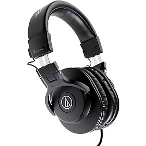 audio technica ath m30x closed back professional studio monitor headphones black guitar center. Black Bedroom Furniture Sets. Home Design Ideas
