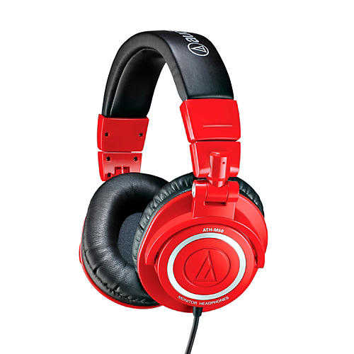 Audio-Technica ATH-M50RD Closed-Back Dynamic Monitor Headphones-thumbnail