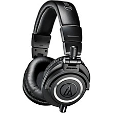 Audio-Technica ATH-M50x Closed-Back Professional Studio Monitor Headphones Level 1 Black