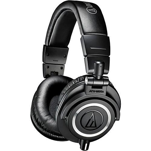Audio-Technica ATH-M50xWH Closed-Back Professional Studio Monitor Headphones