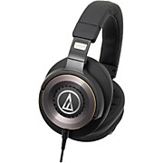 Audio-Technica ATH-WS1100iS Solid Bass® Over-Ear Headphones with In-line Mic
