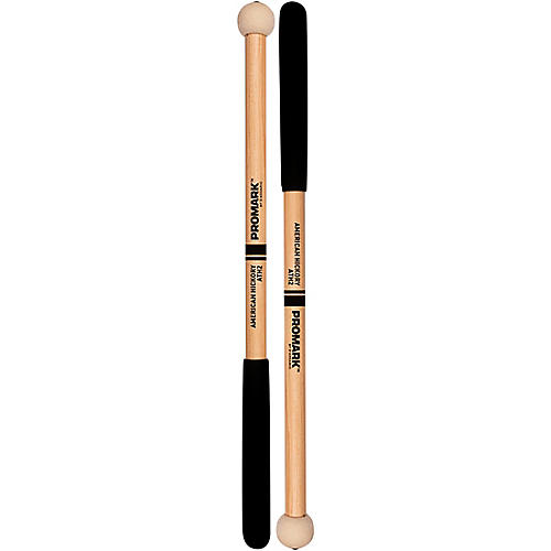 PROMARK ATH2 Felt Tom Mallets Hickory Handle 1 in. Covered Felt Head