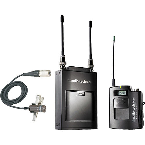 Audio-Technica ATW-1821 1800 Series Dual Channel Camera Mount UHF Wireless System-thumbnail