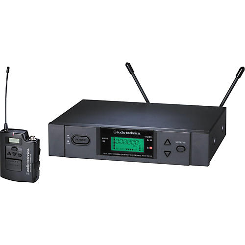 Audio-Technica ATW-3110a UHF Unipak Wireless System