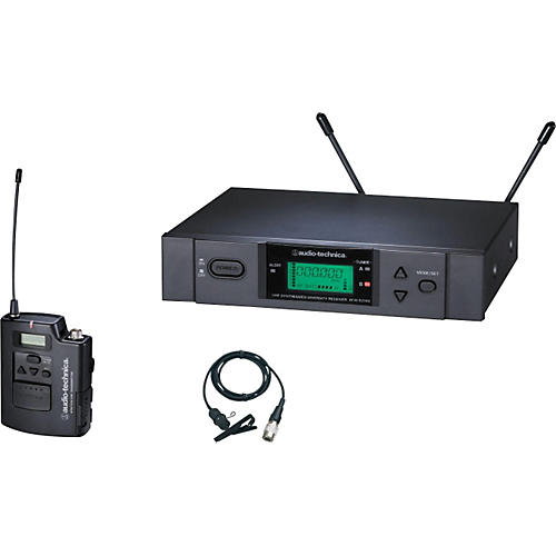 Audio-Technica ATW-3131b 3000 Series Lavalier Wireless System-thumbnail