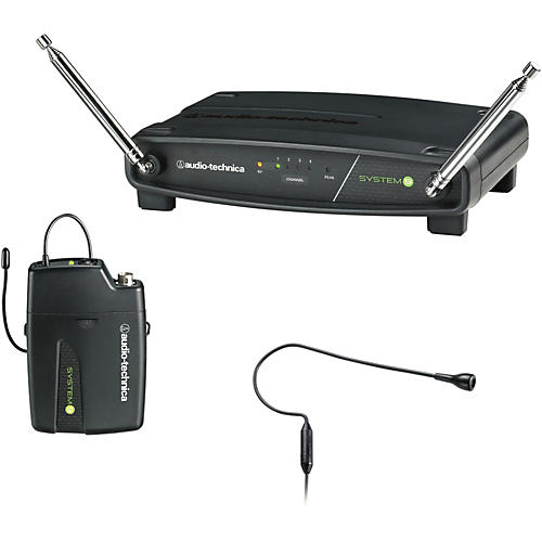 Audio-Technica ATW-901/H92 System 9 VHF Wireless Headset Microphone System