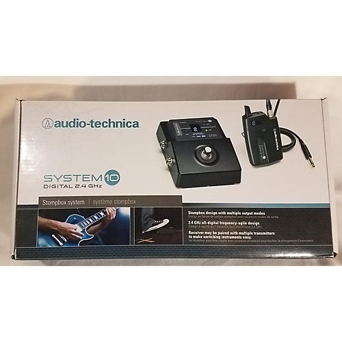 Audio-Technica ATW1501 System 10 Stompbox Instrument Wireless System-thumbnail