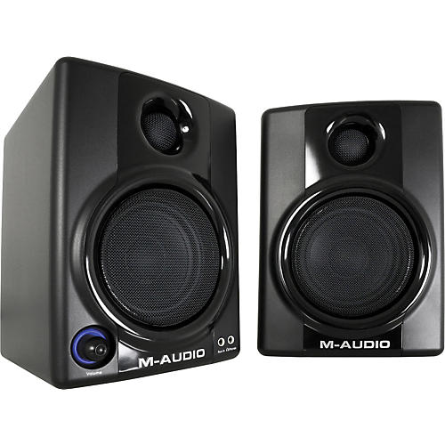 M-Audio AV 30 Compact Monitor Speakers-thumbnail