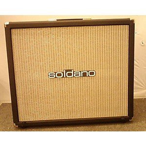 Pre-owned Soldano AV16 2X12 Guitar Cabinet by Soldano