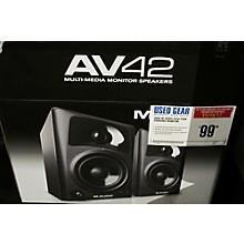 M-Audio AV42 Pair Powered Monitor