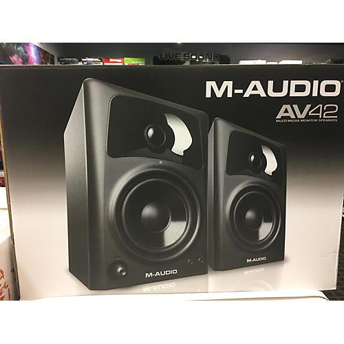 M Audio Av 42 : used m audio av42 powered monitor guitar center ~ Russianpoet.info Haus und Dekorationen