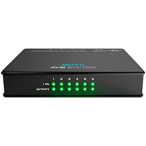 MOTU AVB Switch Five-Port AVB Ethernet Switch-thumbnail
