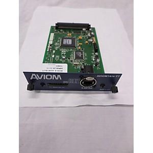 Pre-owned Aviom AVIOM 16 O-Y1 For Yamaha Digital Mixers Digital Mixer by Aviom