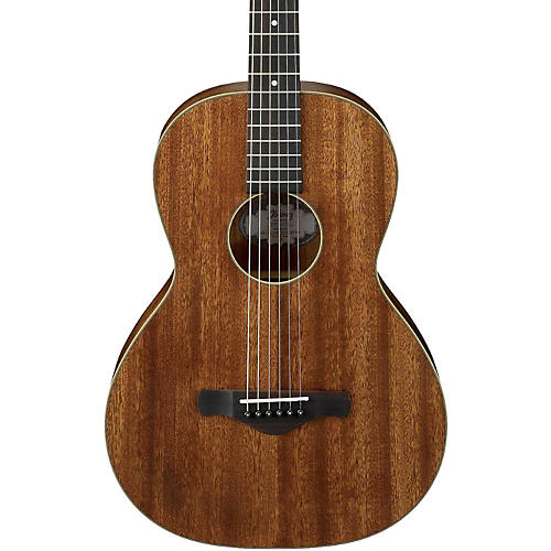 Ibanez AVN5OPN Artwood Vintage All Mahogany Parlor Acoustic Guitar-thumbnail