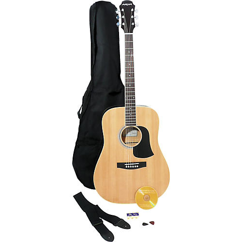 Aria AW-20 Acoustic Guitar Pack