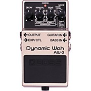 Boss AW-3 Dynamic Wah Guitar Effects Pedal