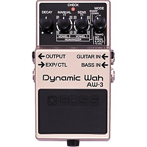 Boss AW-3 Dynamic Wah Guitar Effects Pedal by Boss