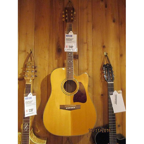 Ibanez AW100CE Acoustic Electric Guitar Natural