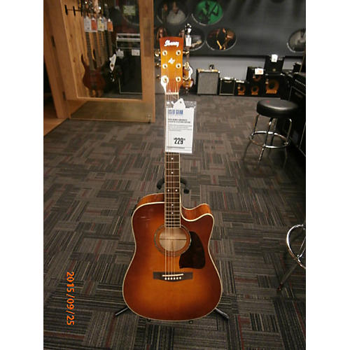 Ibanez AW200ECE Acoustic Electric Guitar-thumbnail