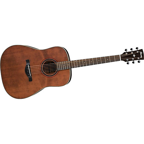 Ibanez AW250 Artwood Solid Top Dreadnought Acoustic Guitar RUSTIC BROWN