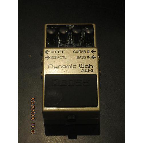 Boss AW3 Dynamic Wah Effect Pedal-thumbnail