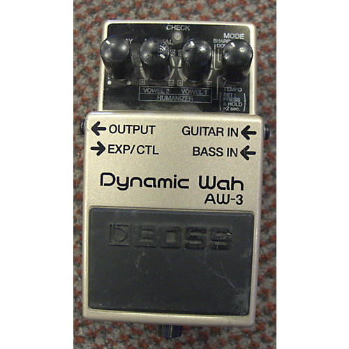 Boss AW3 Dynamic Wah Effect Pedal-thumbnail