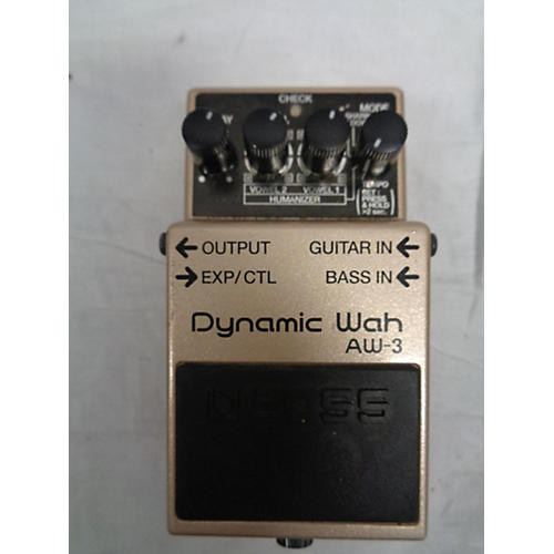 used boss aw3 dynamic wah effect pedal guitar center. Black Bedroom Furniture Sets. Home Design Ideas