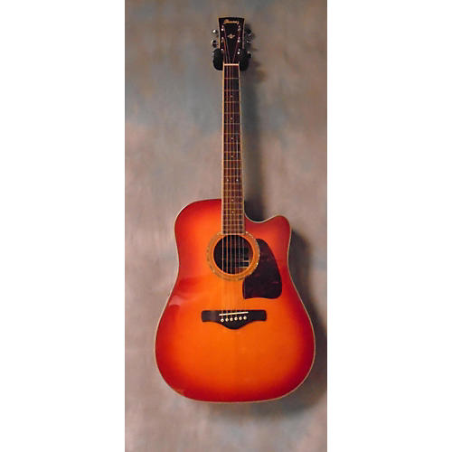 Ibanez AW300ECE Acoustic Electric Guitar-thumbnail