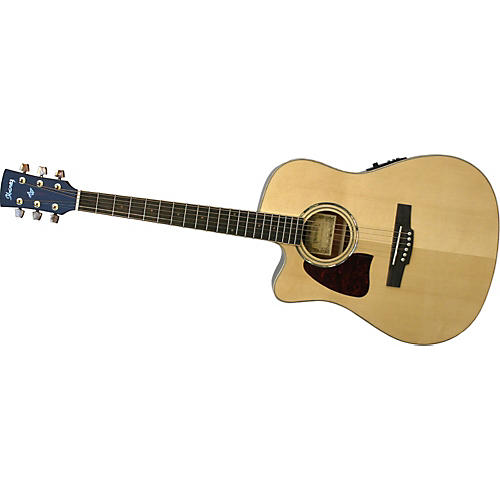Ibanez AW30LECENT Artwood Series Left-Handed Acoustic-Electric Guitar