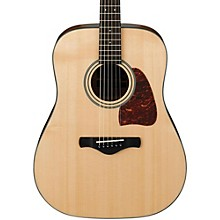 Ibanez AW400 Artwood Solid Top Dreadnought Acoustic Guitar Level 1 Natural
