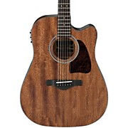 Ibanez AW54CEOPN Artwood Solid Top Dreadnought Acoustic-Electric Guitar