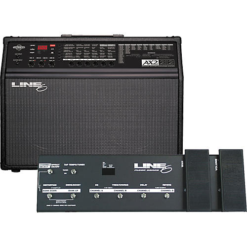 Line 6 AX2 212 Amp and Floorboard Combo Package