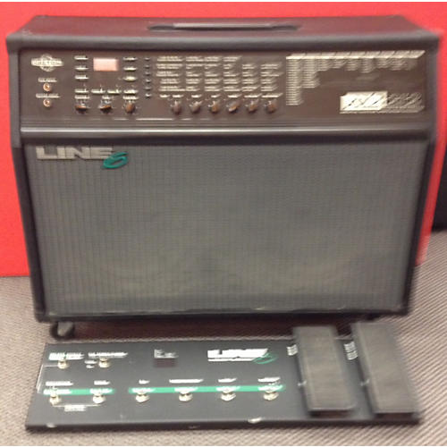 used line 6 ax2 w floorboard guitar combo amp guitar center. Black Bedroom Furniture Sets. Home Design Ideas