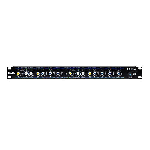 Alto AX2304 Professional High-Precision Stereo 2-Way / 3-Way / Mono 4-Way Crossover-thumbnail