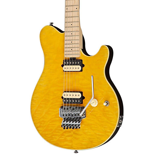 Sterling by Music Man AX40D Electric Guitar DiMarzio Pickups Double Locking Trem-thumbnail