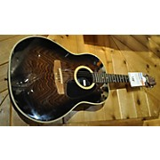 Applause Aa31 Ash Top Roundback Acoustic Guitar