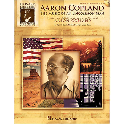 Hal Leonard Aaron Copland: The Music Of An Uncommon Man Student Book 5-Pak-thumbnail