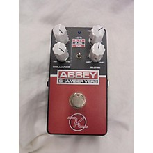 Keeley Abbey Chamber Verb Effect Pedal