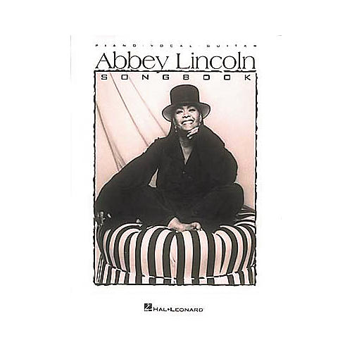 Hal Leonard Abbey Lincoln Songbook Piano/Vocal/Guitar Artist Songbook