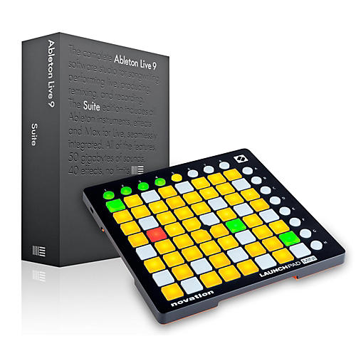 Ableton Ableton Live 9.5 Suite with Novation Launchpad Mini MKII-thumbnail