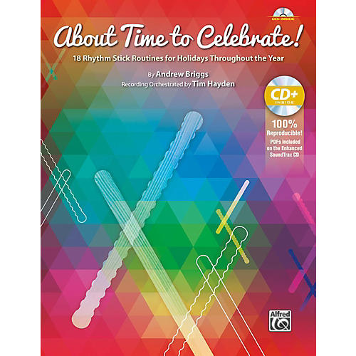 Alfred About Time to Celebrate! Book & Enhanced CD Grades 1-6-thumbnail