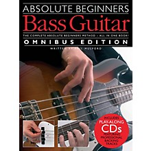 Music Sales Absolute Beginners - Bass Guitar - Omnibus Edition Music Sales America Softcover Audio Online by Various
