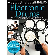 Music Sales Absolute Beginners Electronic Drums (Book/CD)